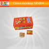 Party red girl box pop pop snapper color paper for christmas for children safety fireworks for sale(T8500)
