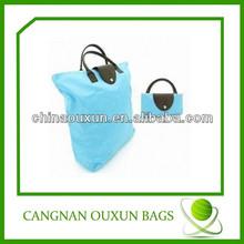 good quality nylon fold up tote bag