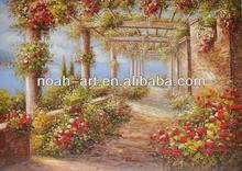 Rural landscape oil paintings
