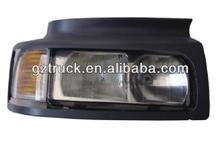 excellent quality Renault truck parts headlamp&corner lamp with bezel