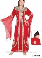 Marokkanische kaftan kleid/Dubai sehr extravagant kaftan abaya jalabiya diesmax k1053 kleid