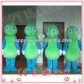 Hi CE verde del traje, Niños de disfraces de hormigas