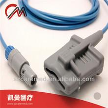Compatible Omni III Infinium spo2 sensor probe,adult silicone soft tip spo2 sensor