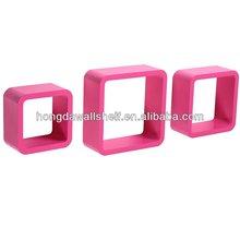 Cube Shelving round corner
