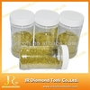 Yellow synthetic industrial diamond powder for cosmetics