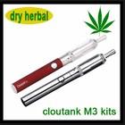 Most popular design cloupor cloutank M3 kit cloud pen dry herb atomizer with Dual MOS transistors