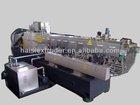 HS TSE-75 twin screw extruder / Plastic Granulator machine for PP/PE plastic film /bags