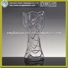OEM Manufacturer Elegant Durable different types glass vase