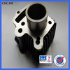 motorcycle engine cylinder block with piston