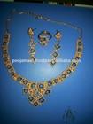 24 KT HANDMADE GOLD FILLED ARBIAN NECKLACE