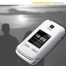 Super quality classical dual sim old man digit cellphone
