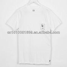 Wholesale name brand organic cotton fabric men t shirt