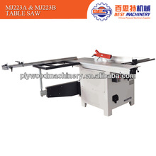 New type table saw for woodworking