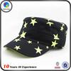 printted custom logo military hat caps