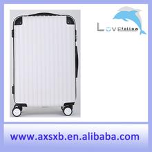 ABS luggage set hardside luggage set aluminum frame zipper luggage rotary luggage press-resistance luggage