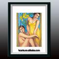 senhoras mulheres e meninas imagens de sexo quente fotografia sobre tela emoldurada
