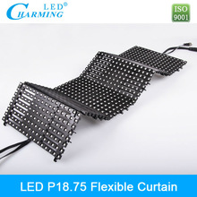 Aliexpress led mesh screen panel hire for signage/stage backdrop