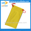 logo printed microfiber sunglasses eyewear bag/glasses pouch