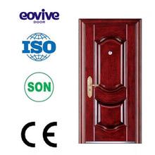CE certificated stainless steel door/metal door/ iron door design
