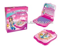 Kids Playset Plastic Girl English Phone Learning Machine, Children Telephone Learning Computer, B/O Study Machine, AL014478