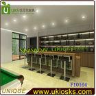 F10164-Modern/creative wine bar counter, space saving, easy operation