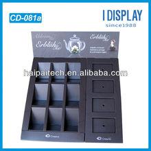 POP bio-degradable cardboard tabletop display box for e liquid