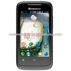 New Arrival Original Lenovo A369i Dual Core MTK6572 1.3GHz Android 4.2 OS 3G WCDMA Smart Phone 4.0 Inch 2.0MP Camera Wifi