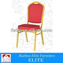 Luxury Furniture Wedding Chairs with Fabric/High-density foam cushion