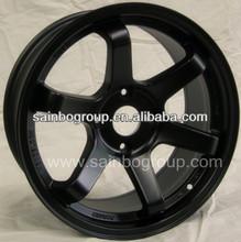 Japan rays volk te37 black replica alloy wheel