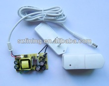 white color universal travel adaptor 9v 500ma ac dc adapter