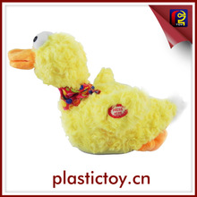 electric duck toy baby dolls toys wholesale with action&voice BAD163313