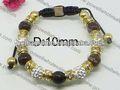 Plaqué or gros couleur bracelets signification