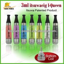 2014 Itsuwa hot-selling evaporator e cigarette e cig i-queen