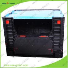 Plastic Foldable Pallet Container/ Folding Pallet Crate/ Foldable Pallet Box