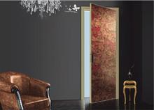 Aluminum Wooden Door With Modern Looking