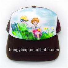 Truck cap male women's mesh cap trucker hats sun-shading summer hat for man cap