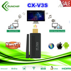 2014 MIRACast dongle miracast video adapter for ios/android/windows/MacOS supporting 1080p/DLNA/Airplay