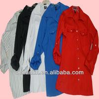 2014 spring fashion ladies shirts cutting cheap price