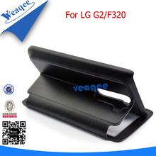 trendy luxury flip cover case for lg g2
