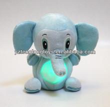 Popular toy for baby elephant shaped baby LED night light