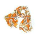 Vente en gros nouvelle conception personnalisée foulard en soie d'impression numérique