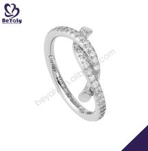 Creative gemstone women silver fashion accessory camel ring
