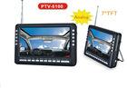 "2014 NEW 7"" Portable Analog TV for color LCD display"