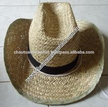 cowboy sombrero straw hat