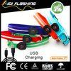 Lumious safety LED collar training dog used