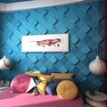 estilo oriental wallpaper de 3d projetando