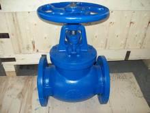 flanged end cast/ductile iron globe valve