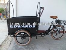 Three Wheel Electric Family Cargo Bike