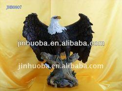Hot seller China manufacturer resin eagle crafts & eagle sculpture