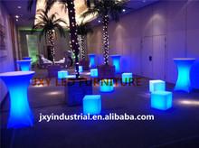 furniture with led light/led plastic furniture/led illuminated bar furniture